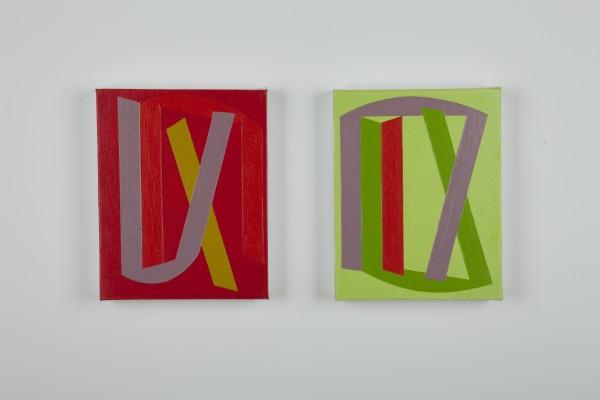Vanessa Jackson, Summer Note I and II 2014, 2014