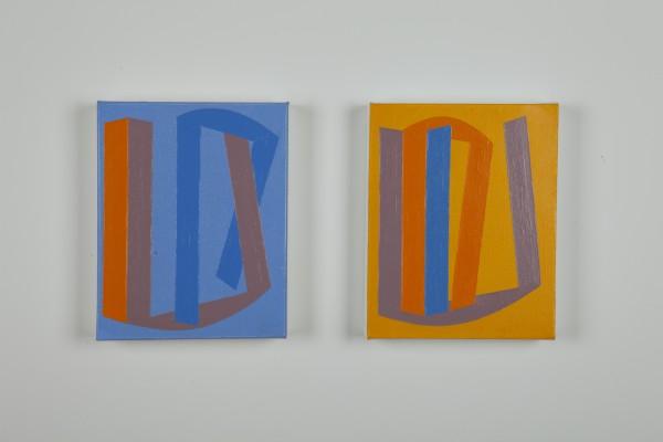 Vanessa Jackson, Summer Note VI and VII 2014, 2014