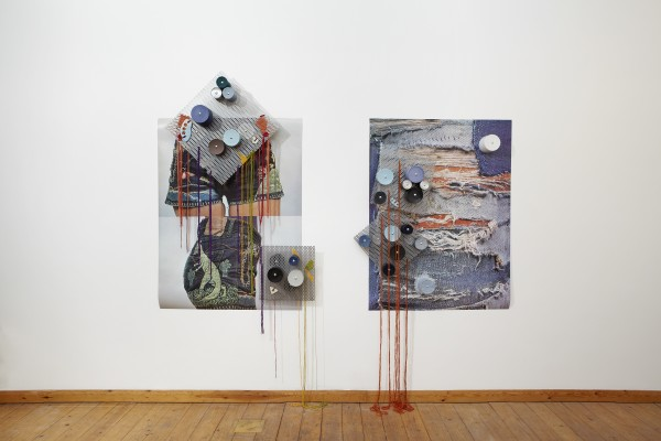 Coco Crampton, Pivot (left), Graze (right), 2014