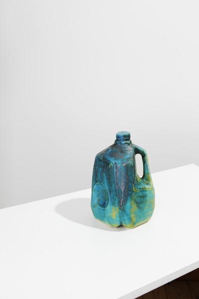 Matthias Merkel Hess, 1 Gallon Milk Jug, 2013