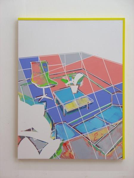 David Ben White, The Fabrication of Pleasure Painting, 2014