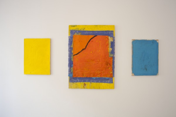 Bobby Dowler, Painting-Object (c04.05.14)VL, Painting-Object (c18.05.14)VL, 2014 and Painting-Object (c03.05.14)VL, 2014