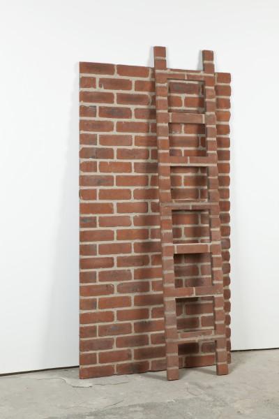Alex Chinneck, Brick Study E (brick ladder), 2012