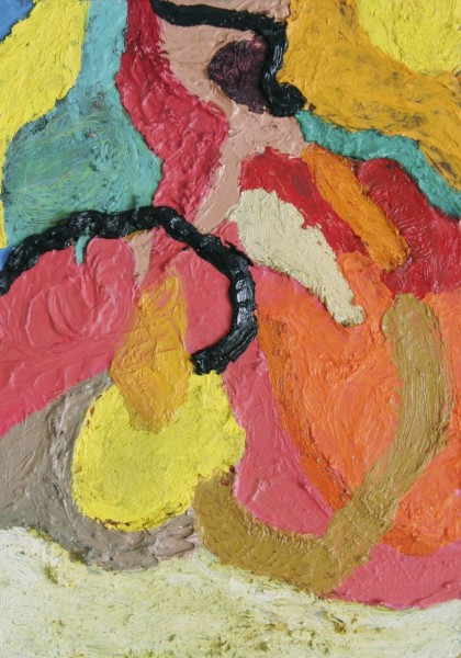 Ralph Hunter-Menzies, Abstract Composition I, 2012