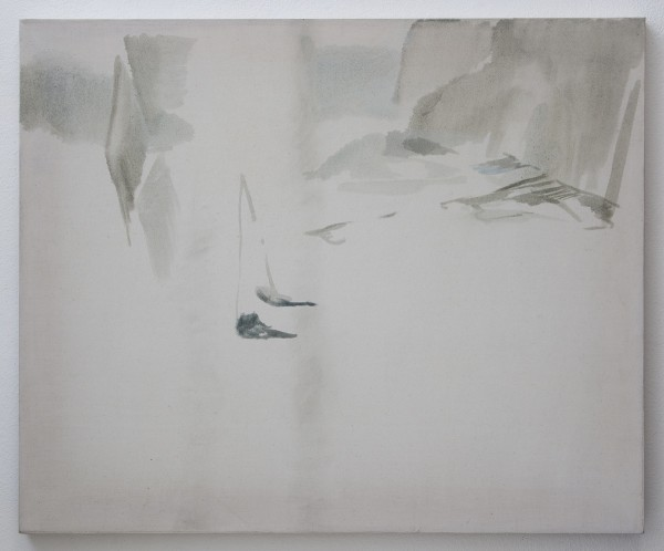 Wendy McLean, Grey wall, 2011