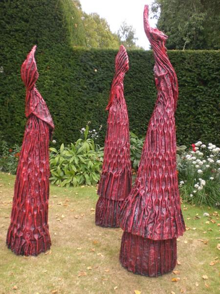 Carole Andrews, Red Sentinels, 2010