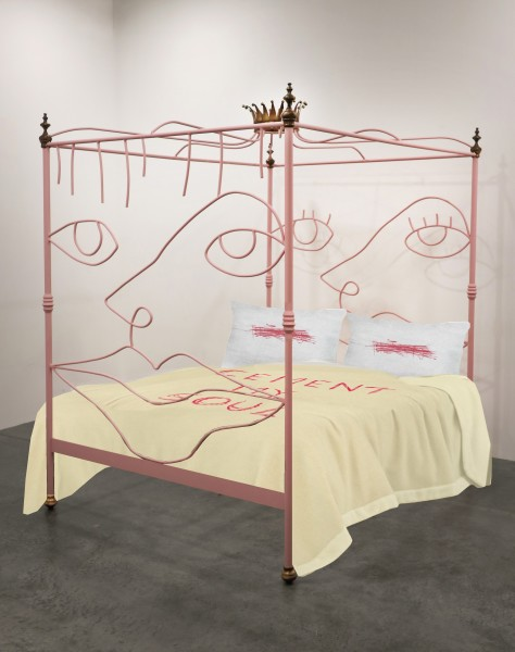Charlotte Colbert, Art Bed, Sleep and Fairy Tales, 2019