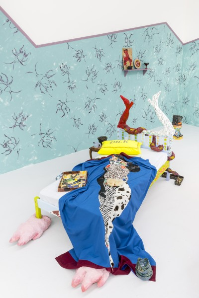 Lindsey Mendick, Please Permit my Sense of Touch to Take Pleasure in Those Places, 2018