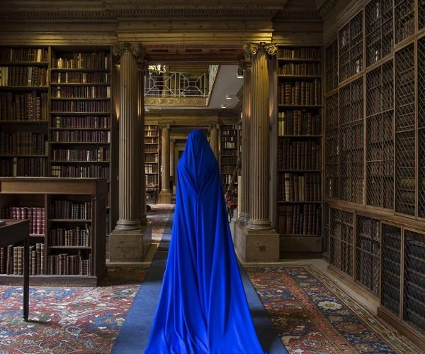 Güler Ates, Eton College Library and She I, 2017