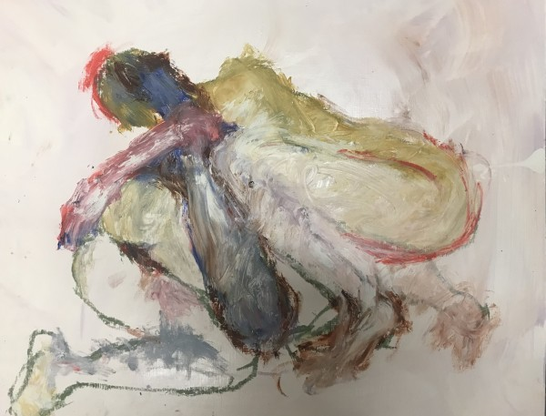 Florence Peake, Drawing rehearsal/Eve, 2018