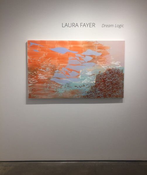 Installation shot of Laura Fayer's