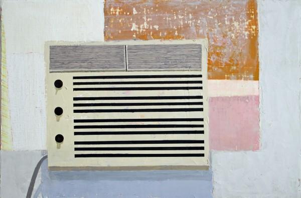 Sydney Licht  Still Life with AC, 2015  Oil on linen  16 x 24 in.