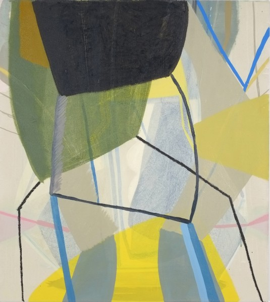 Ky Anderson  Hovering #1, 2015  oil on canvas  38 x 34 in. (96.5 x 86.4 cm)