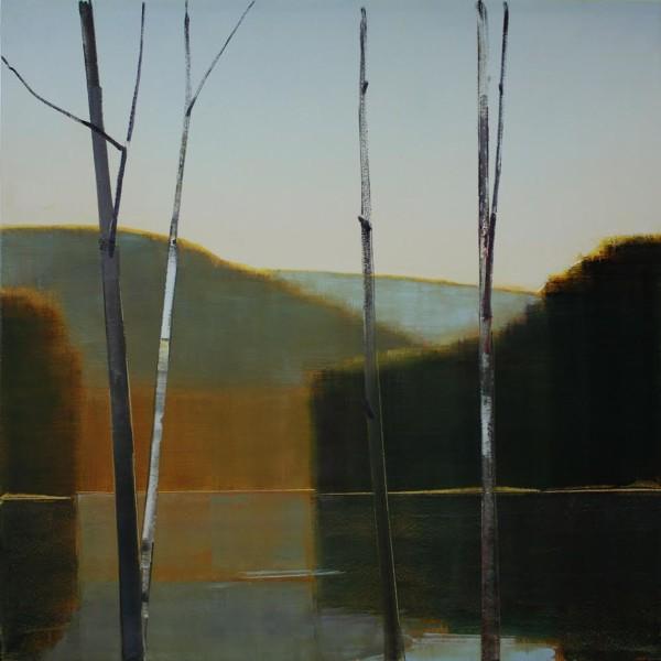 Stephen Pentak  2014, X.VI, 2014  Oil on panel  36 x 36 in.