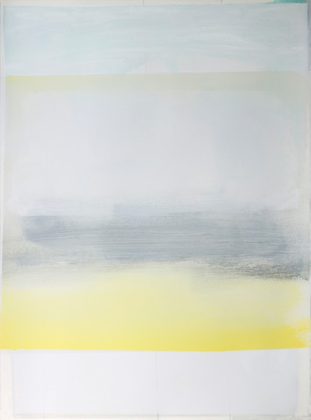 Jeffrey Cortland Jones  Disco (Delight), 2014  Enamel, gesso, latex, and graphite on paper  30 x 22 in.