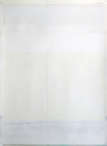 Jeffrey Cortland Jones  Disco (Selector), 2014  Enamel, gesso, latex, and graphite on paper  30 x 22 in.
