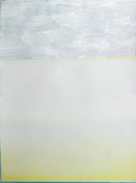 Jeffrey Cortland Jones  Disco (Waves), 2014  Enamel, gesso, latex, and graphite on paper  30 x 22 in.