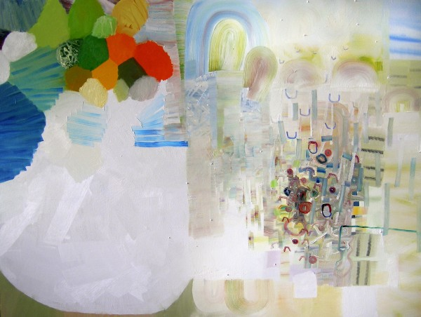 Josette Urso  WhisperSand, 2012  oil on canvas  36 x 48 in