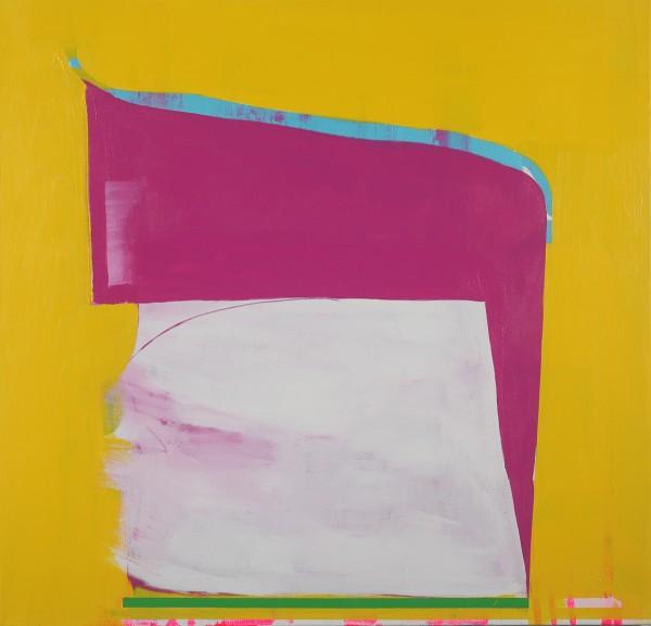 Paul Behnke  A Kind of Grail,2012  acrylic on canvas  48 x 50 in