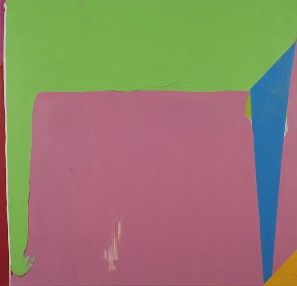 Paul Behnke  Sleepwalker, 2012  acrylic on canvas  48 x 50