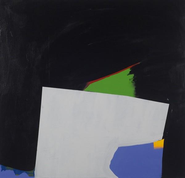 Paul Behnke  Columbic, 2013  acrylic on canvas  48 x 50 in