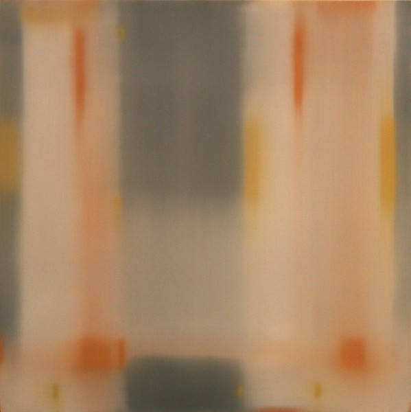 Julian Jackson  Crossing 11, 2012  Oil on panel  24 X 24 inches