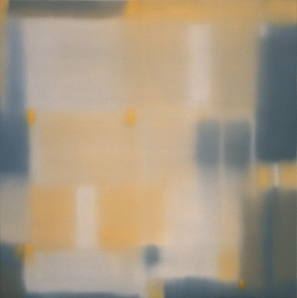 Julian Jackson  Crossing 7, 2012  Oil on panel  24 X 24 inches