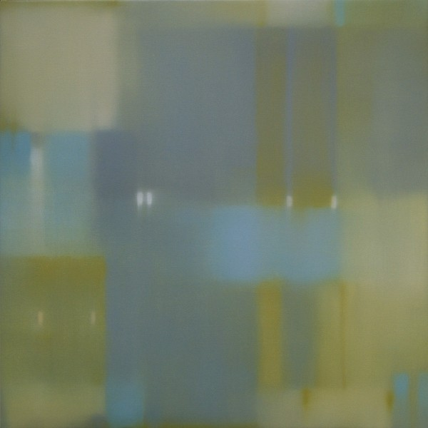 Julian Jackson  Crossing Earth, 2012  Oil on canvas  36 X 36 inches
