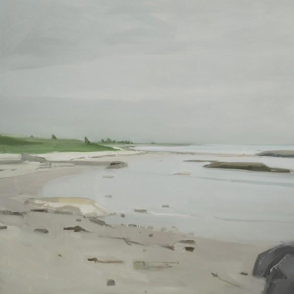 Sara MacCulloch  White Sand Beach 2012  Oil on canvas  48 x 48 inches