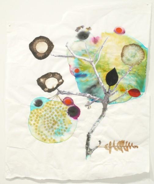 Marilla Palmer  Fern and Velvet, 2011  mixed media  22 x 18 in