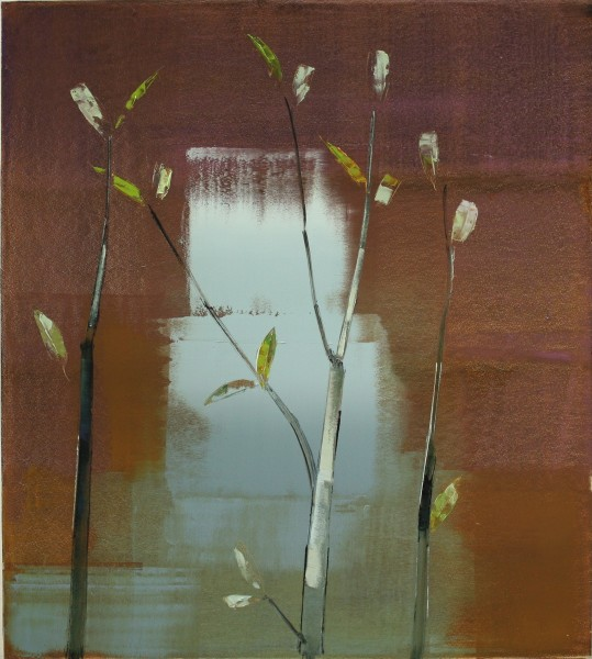 Stephen Pentak  VIII.V, 2011  Oil on panel  48 x 43 inches