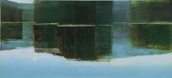 Stephen Pentak  10.2, 2011  Oil on paper, paper size 26 x 41 inches  13 X 28 inches