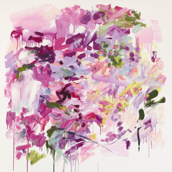 Yolanda Sanchez  Zahra, 2010  Oil on canvas  48 x 48 inches