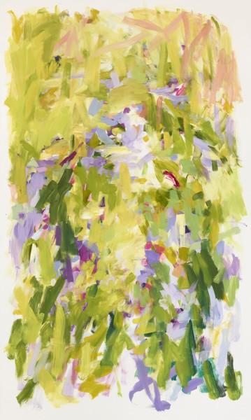 Yolanda Sanchez  Wild Companions, 2010  Oil on canvas  60 x 36 inches