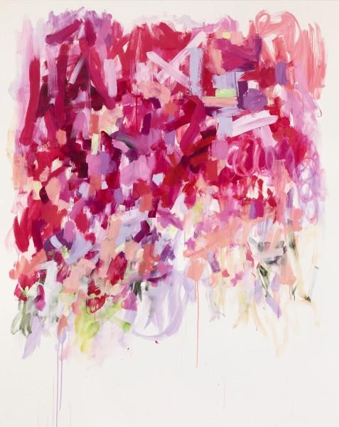 Yolanda Sanchez  Modern Romance, 2010  Oil on canvas  60 x 48 inches