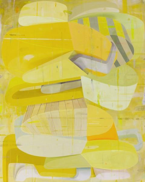 Deborah Zlotsky  Once it started, 2015  oil on canvas  60 x 48 in.