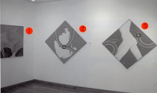 EVELYNE AXELL Installation View