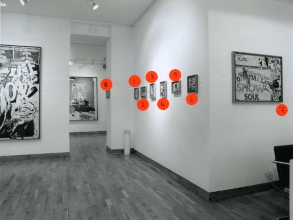 JACQUES VILLEGLE Installation View