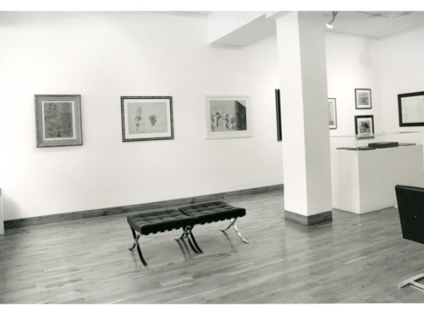 DADA AND SURREALIST WORKS ON PAPER Installation View