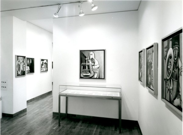 DAVID CARR Installation View