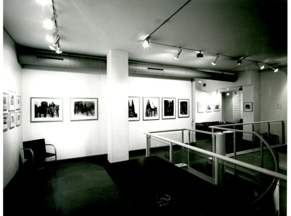 DAVID BOMBERG Installation View