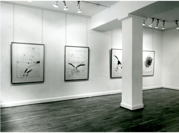 CY TWOMBLY Installation View