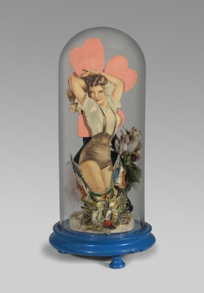 CLAUDE GILLI Ex-Voto, 1963 Assemblage 35 x 16.5 x 16.5 cm (13 3/4 x 6 1/2 x 6 1/2 in) £10,000