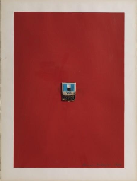 BERNARD AUBERTIN Untitled (Matchbox), 1974 Assemblage 68 x 52 cm (26 3/4 x 20 1/2 in) £2,000
