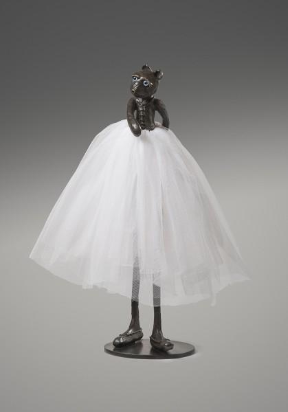 PATRICK O'REILLY Ballerina bear, 2014 Bronze sculpture 72 x 56 x 50 cm (28 3/8 x 22 x 19 3/4 in) £8,000
