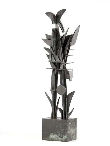 SHINKICHI TAJIRI, Ronin, 1995 Bronze, unique 92 x 26 x 43 cm 36 ¼ x 10 ¼ x 17 inches