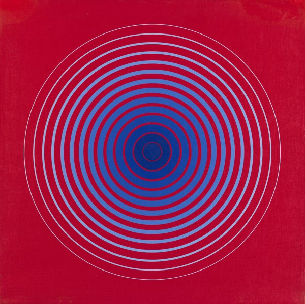 MARINA APOLLONIO, N° 28 Gradazione 14 P Forma colore, 1972