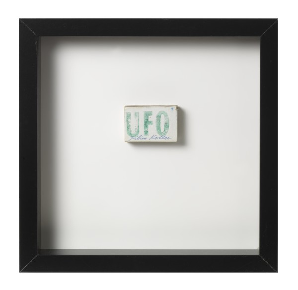 JULIUS KOLLER, Untitled U.F.O.(Matchbox)
