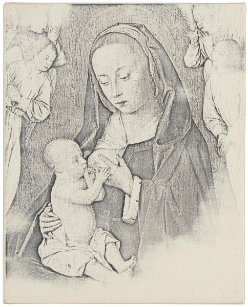 BILLY APPLE, Madonna & Child, 1964