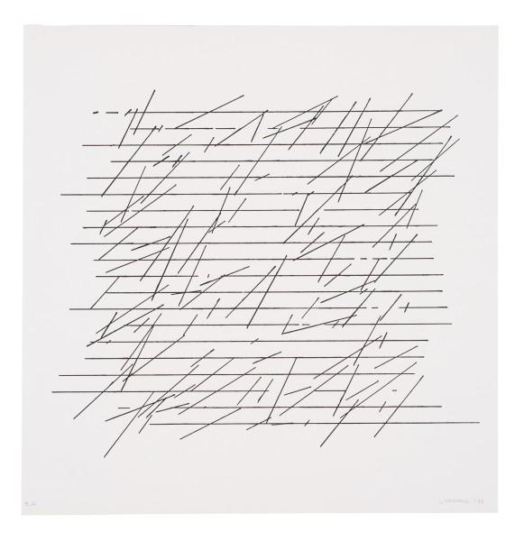 VERA MOLNÁR, Untitled, 1972